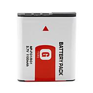 np-bg1/fg1 compatibele 3,7 V 1100mAh batterij voor Sony DSC-W3, W5, W50 en nog veel meer