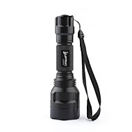 uniquefire 3 modes du CREE XM-L T6 LED Flashlight (1000lm, 1x8650, noir)