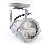 1W LED blanco cálido centro de atención con 3 luces