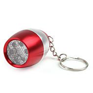6 주도의 와인 병을 키 체인 손전등 2xcr2032 빨간색