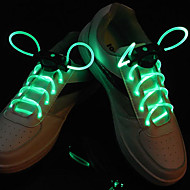Flash Grow Stick Green Light Waterproof LED Shoelace (1-Pair)