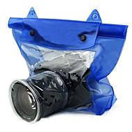 USD $ 8,50 - Wasserdichte Tasche für Unterwasser-DSLR SLR -Kamera (Blau)