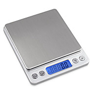 digitale lcd keukenweegschaal (0,1 g - 2000g)