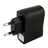EU-Stecker USB AC-DC-Netzteil Ladegerät Adapter MP3 MP4 Digitalkamera Ladegerät (schwarz)