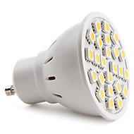 E14 / GU10 24 SMD 5050 150 LM Warm White MR16 LED Spotlight AC 220-240 V