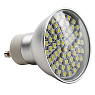 GU10 3.5 W 60 SMD 3528 180 LM Natural White MR16 Spot Lights AC 220-240 V