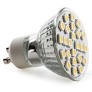 3.5 W- MR16 - GU10 - Spotlamper (Warm White 150 lm- AC 220-240
