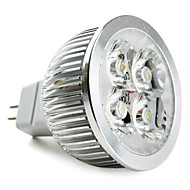 GU5.3(MR16) 5W 4 High Power LED 360 LM Natural White MR16 LED Spotlight DC 12 V