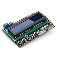 16 x 2 LCD-toetsenbord schild voor (voor Arduino) uno mega Duemilanove