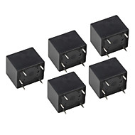 HK3FF-DC5V-SHG 5-Pin Power Relay - Black (5-Piece)