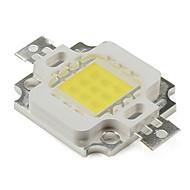 diy 10w 800lm 900mA emettitore di luce naturale led bianchi (9-12v)