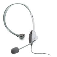 klassischen Mikrofon-Headset für Xbox 360 (weiß)