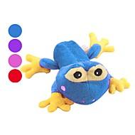 개를위한 개구리 왕자 스타일 삑 애완 동물 장난감 (15 x 11 크기 X 8, 여러 종류의 색)