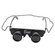 Binocolo 3x28 per la pesca (stile occhiali con filo di nylon)