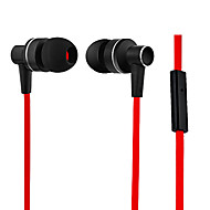 Kanen Lifelike Sound Comfort In-ear Earphone w/ Mic for iPhone 6 iPhone 6 Plus