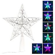 Star Shaped Colorful Light LED String Fairy Lamp for Christmas (220V)