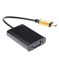 HDMI Male to VGA Female Adapter Cable for Samsung Galaxy S3 I9300 and Others