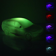 Car Shaped Bunte LED-Nachtlicht (3xAG13)