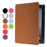 ipadの2/3/4用スタンド&サウンドenhancemet(分類された色)を持つPUレザーケース
