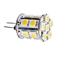 G4 3.5 W 18 SMD 5050 300 LM Warm White Corn Bulbs DC 12 V