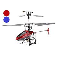 Hélicoptère radio de contrôle gyroscope 4 canaux (modèle: 346 bleu / rouge)