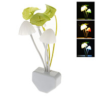 Mushroom Style Color Changing LED Night Light (220V)
