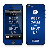 "Da Kode ™ Skin for iPhone 4/4S: ""Keep Calm and Shut Up"" av Steven Lin (Creative Series)"