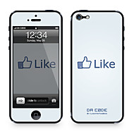 "Da Kode ™ Skin for iPhone 4/4S: ""Som på Facebook"" av Steven Lin (Creative Series)"