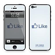 """Da koodi ™ Skin iPhone 4/4S: """"Tykkää Facebookissa"""" Steven Lin (Creative Series)"""
