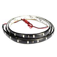 LED-valo nauhat 90cm, punainen / valkoinen / sininen