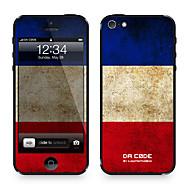 "Da koodi ™ Skin iPhone 4/4S: ""Ranska"" (Flags-sarja)"