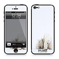 """Da koodi ™ Skin iPhone 4/4S: """"Jääkarhut"""" (Eläimet Series)"""