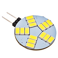 Luces de Doble Pin G4 4.0 W 15 SMD 5630 350 LM 6000K K Blanco Natural AC 12 V