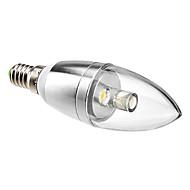 1 W- C - E14 - Stearinlys Pærer (Warm White , Dekorativ) 90 lm- AC 85-265