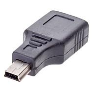 Mini-USB-Stecker auf USB 2.0 Buchse Adapter