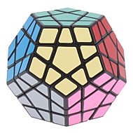 Magic Cube IQ Cube Shengshou Megaminx Smooth Speed Cube Magic Cube puzzle Black Plastic