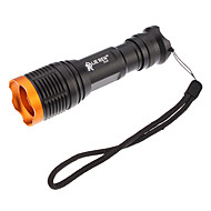 LED Flashlights/Torch / Handheld Flashlights/Torch LED 5 Mode 1800 Lumens Adjustable Focus Cree XM-L T6 18650 Everyday Use - Others ,