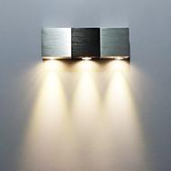AC 85-265 3 Ενσωματωμένο LED Μοντέρνο/Σύγχρονο Γαλβανισμένο Χαρακτηριστικό for LED Mini Style Συμπεριλαμβάνεται Λάμπα,Ατμοσφαιρικό Φως