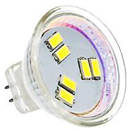 GU4(MR11) 2W 6 SMD 5630 180 LM Natural White MR11 LED Spotlight AC 12 V