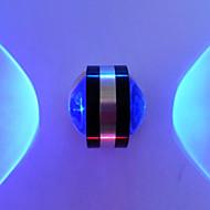2 Birleştirilmiş LED Modern/Çağdaş Eloktrize Kaplama özellik for LED Ampul İçeriği,Ortam Işığı Duvar ışığı