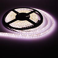 Vandtæt 5M 30W 600x3528SMD Warm White Light LED Strip lampe (DC 12V)