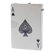 Poker style Spade-A briquet au butane Jet