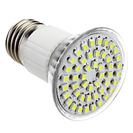 E27 3.5W 48x3528SMD 145-195LM 6000-6500K Natural White Light LED Spot Bulb (85-265V)