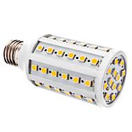 10W E26/E27 Żarówki LED kukurydza T 60 SMD 5050 800 lm Ciepła biel DC 12 V