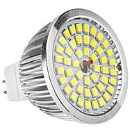 MR16 6W 48x2835SMD 580-650lm 5800-6500K Natural White LED Bulb Pontual (12V)