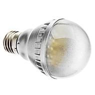 E26/E27 2.5 W 48 Dip LED 230 LM Warm White A Sound-Activated Globe Bulbs AC 220-240 V