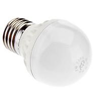 E27 3W 6X5730SMD 230LM 3000K warm wit licht LED Ball Blub (220-250V)