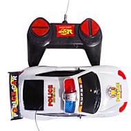 Police voiture jouet télécommande avec Music & LED