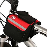 Exterior Textil Portable colorido bolso de la bicicleta del frente