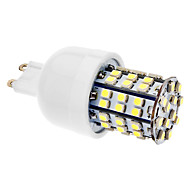 G9 3.5 W 60 SMD 3528 270 LM Natural White T Corn Bulbs AC 220-240 V